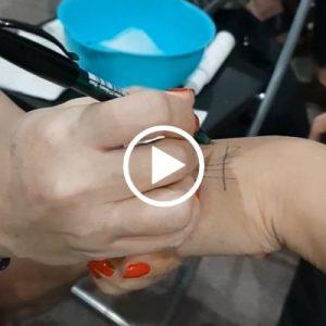 R3R Duo R Facial Cleanser Demo on Hand Video Thumbnail